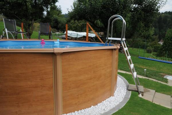 Pool holz pool aus holz selber bauen pool selber bauen for Pool holzdekor