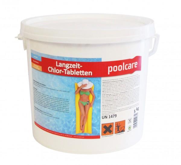 Poolcare Chlorgroßtabletten 200 g Tabletten, 5 kg