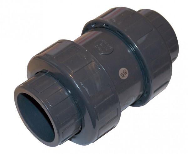 PVC Fitting Rückschlagventil Ø 50 mm