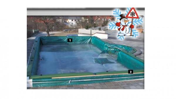 Steirerbecken Pool Wintersack