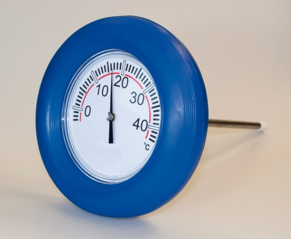 Schwimmring Thermometer