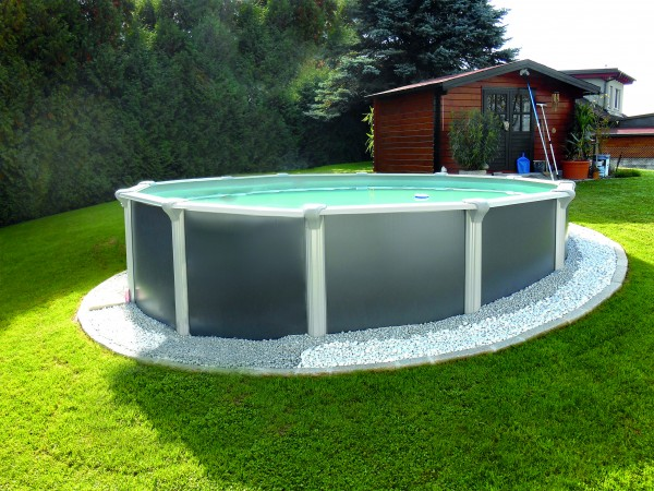 Steirerbecken Pool Design rund