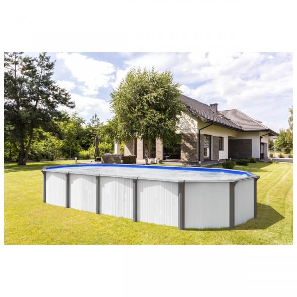Steirerbecken Pools Supreme White Design oval