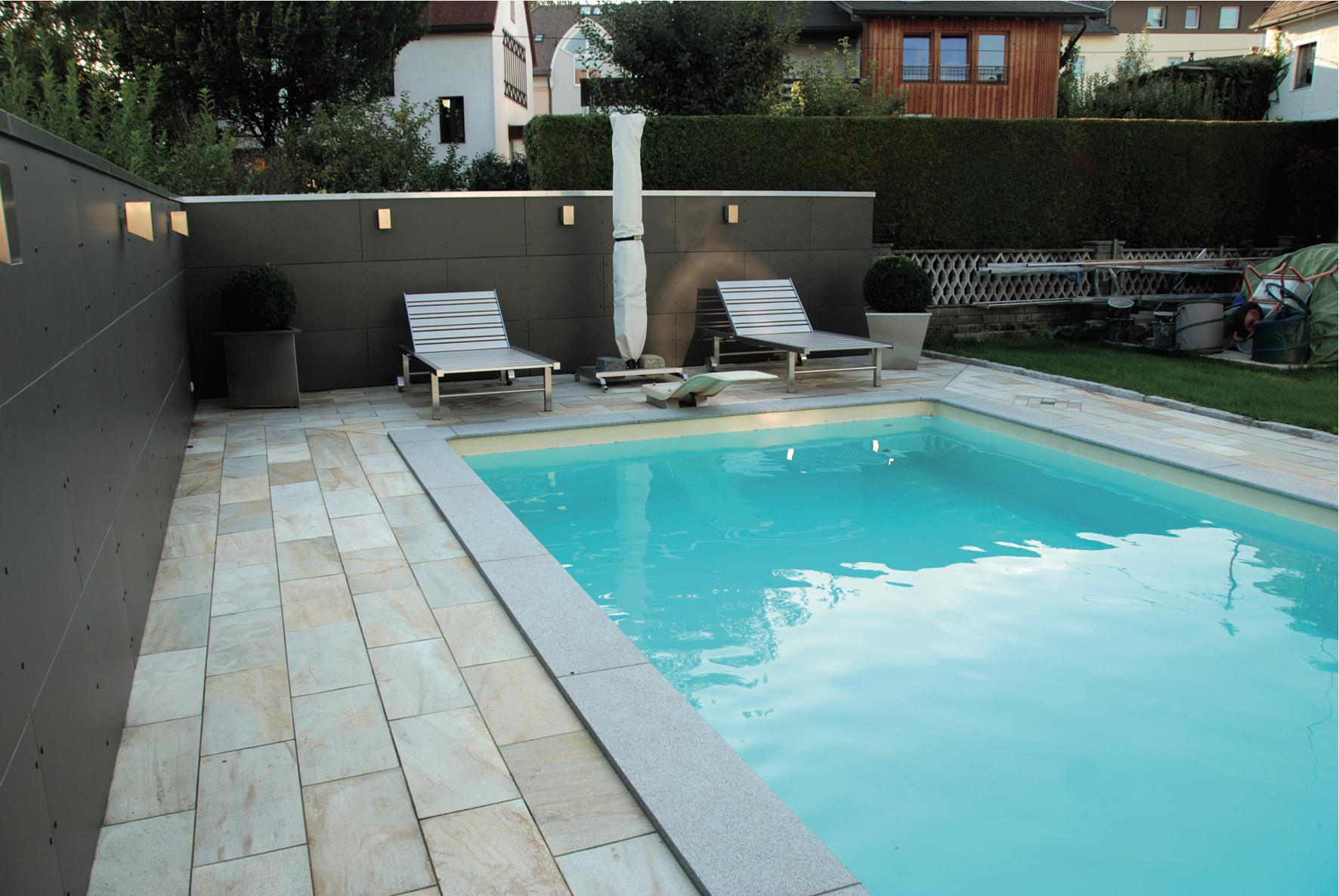 Der traum vom eigenen pool selbst bauen oder bauen for Schwimmpool garten