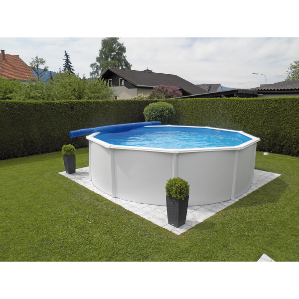 Steirerbecken Pools Steely de Luxe Rund