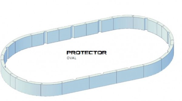 Steirerbecken Pools Protector Oval