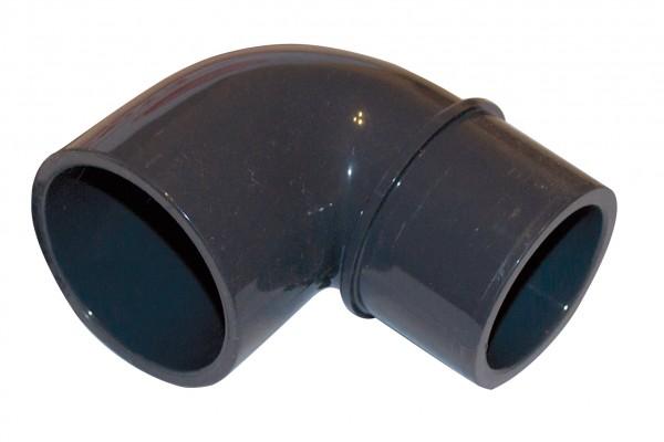 PVC Fitting Reduzierwinkel 90° Ø 50 mm für Wanddruchführung